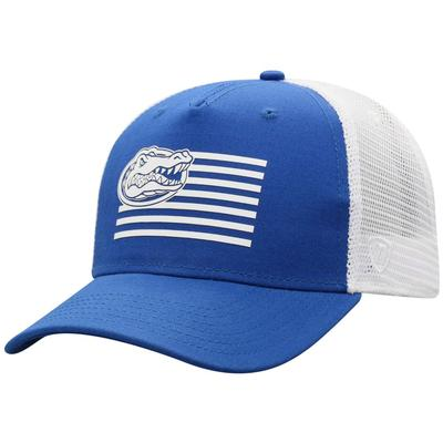 Florida Men's Here Stripes Trucker Hat