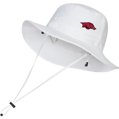 Arkansas Nike Golf Dri-FIT Bucket Hat - Side Team Logo