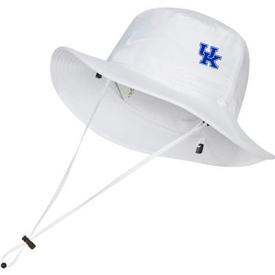 Kentucky Nike Golf Dri-FIT Bucket Hat - Side Team Logo