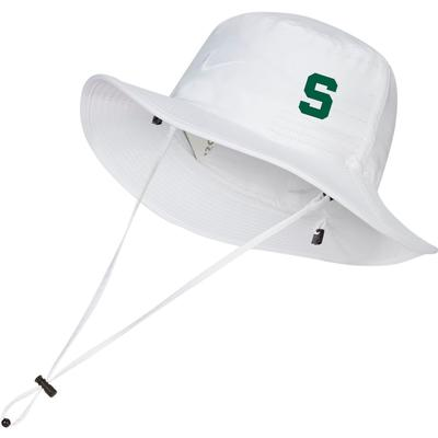 Michigan State Nike Golf Dri-FIT Bucket Hat - Side Team Logo