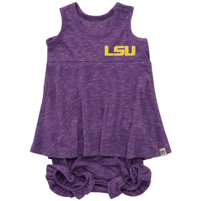 LSU Colosseum Infant Snork Bloomer Set
