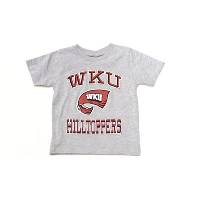 Western Kentucky Gen2 Toddler Grey Arch Tee