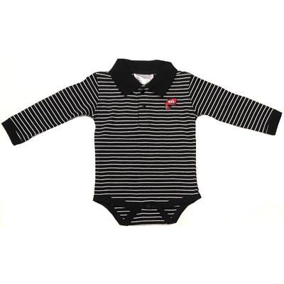 Western Kentucky Infant Striped Long Sleeve Onesie