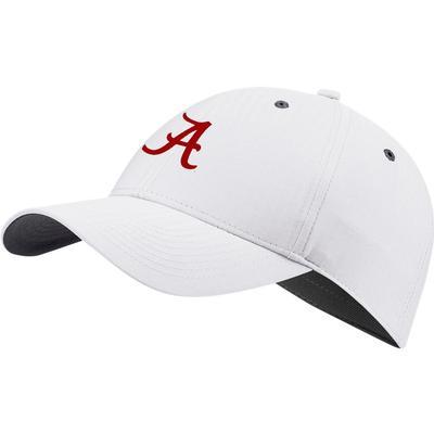 Alabama Nike Golf L91 Adjustable Tech Cap WHITE