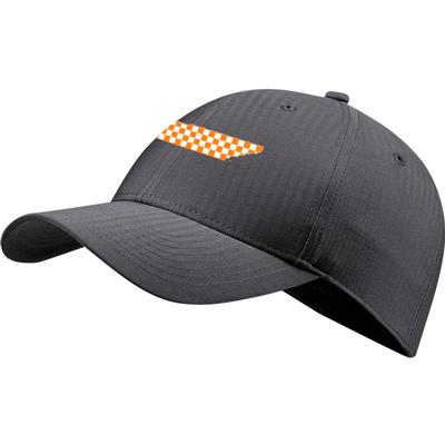 Tennessee Nike Golf Checker State L91 Adjustable Tech Cap