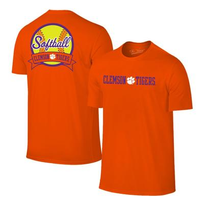 Clemson Women's Softball Banner Tee