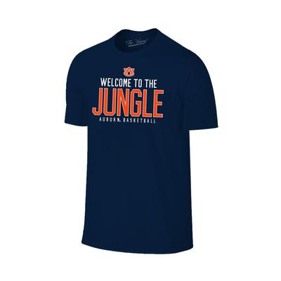 Auburn Welcome to the Jungle Basketball Tee