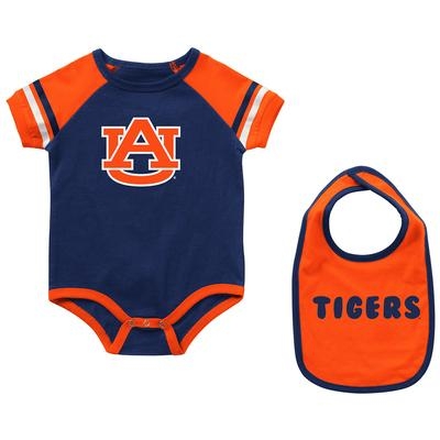 Auburn Colosseum Infant Warner Onesie and Bib
