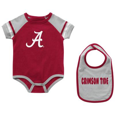 Alabama Colosseum Infant Warner Onesie and Bib