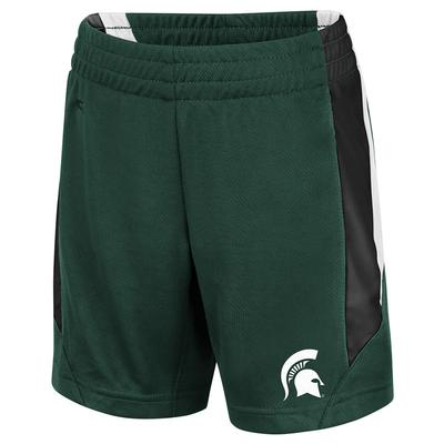 Michigan State Colosseum Toddler Boys Rubble Shorts