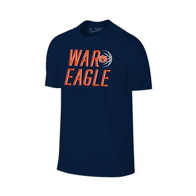 Auburn Basketball War Eagle Short Sleeve Tee