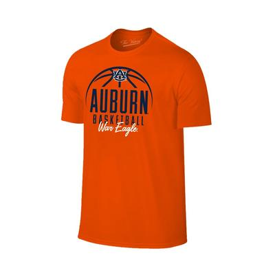 Auburn Bold Basketball Short Sleeve Tee