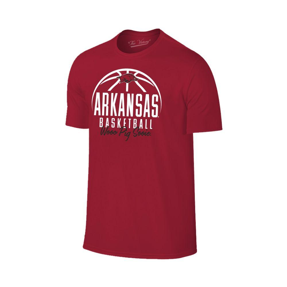 Arkansas Bold Basketball Short Sleeve Tee