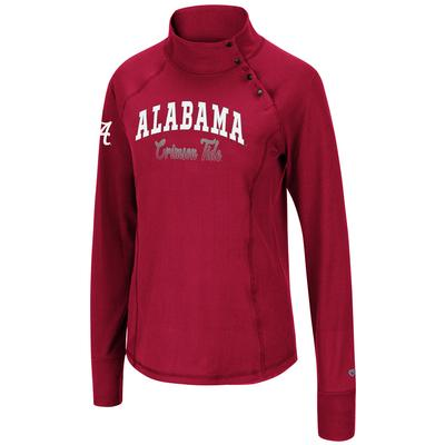 Alabama Colosseum Women's Galentine 1/4 Snap Pullover