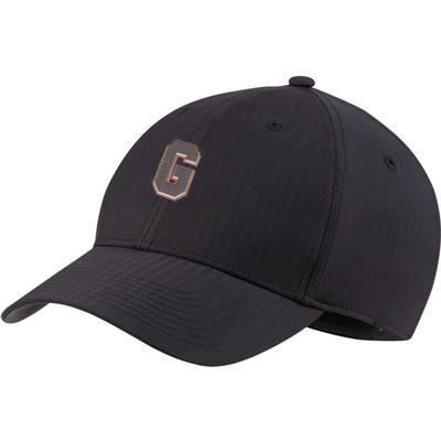 Georgia Nike Golf Block G L91 Adjustable Tech Cap BLACK