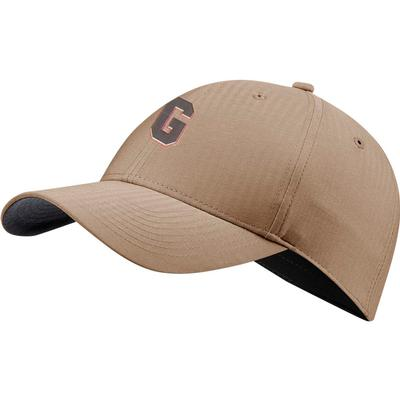 Georgia Nike Golf Block G L91 Adjustable Tech Cap KHAKI