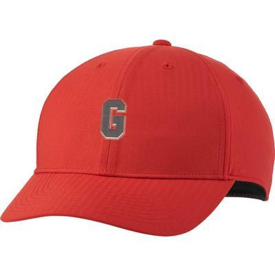 Georgia Nike Golf Block G L91 Adjustable Tech Cap UNIV_RED