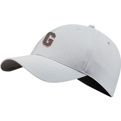 Georgia Nike Golf Block G L91 Adjustable Tech Cap WOLF_GREY