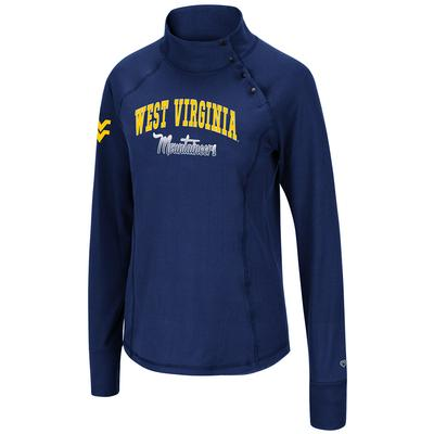 West Virginia Colosseum Women's Galentine 1/4 Snap Pullover
