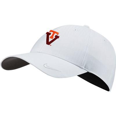 Virginia Tech Nike Golf Women's H86 Adjustable Cap SKY_GREY
