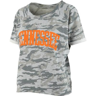 Tennessee Pressbox Camo Splash Tee