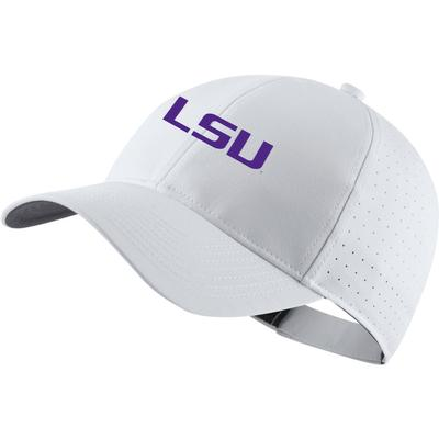 LSU Nike Golf L91 Custom Adjustable Cap
