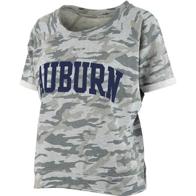 Auburn Pressbox Camo Splash Tee