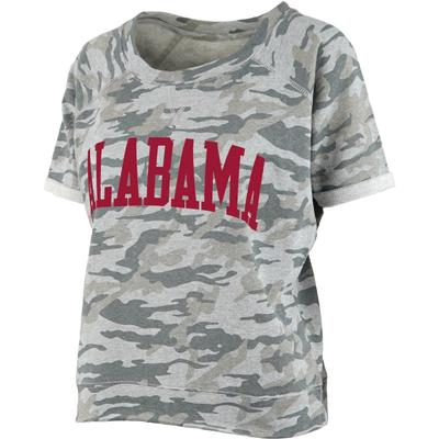 Alabama Pressbox Camo Splash Tee