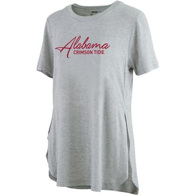 Alabama Pressbox Side Slit Testify Tee