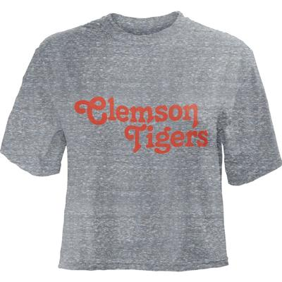 Clemson Cali Dreamin Knobi Crop Top