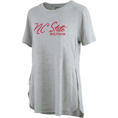 NC State Pressbox Side Slit Testify Tee