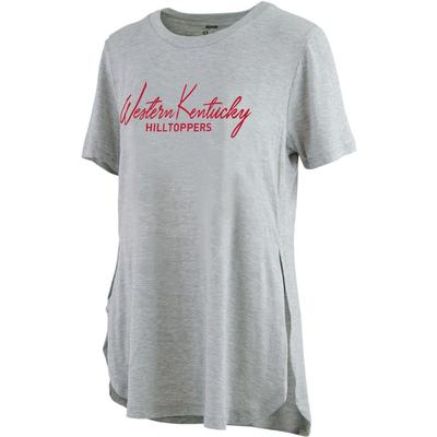 Western Kentucky Pressbox Side Slit Testify Tee
