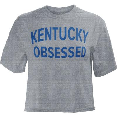 Kentucky Pressbox Obsessed Knobi Crop Top