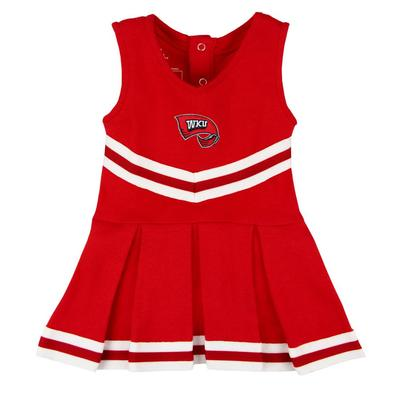 Western Kentucky Infant Cheerleader Dress