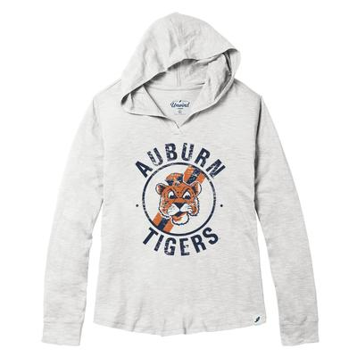 Auburn League Women's Distressed Slub Hoodie