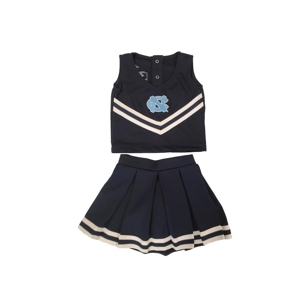 Unc Toddler Cheerleader Set