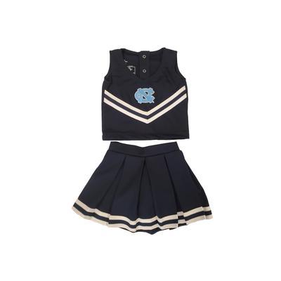 UNC Toddler Cheerleader Set