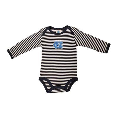 UNC Infant Stripe Body Suit