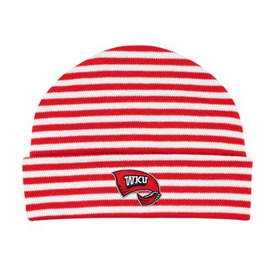 Western Kentucky Striped Knit Cap