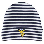 West Virginia Striped Knit Cap