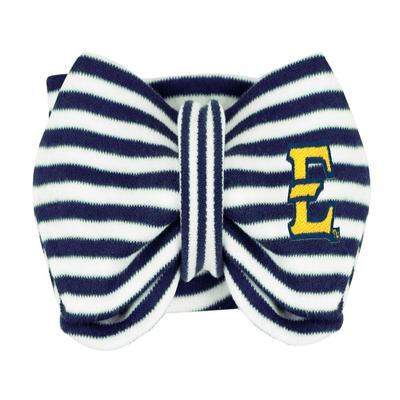 ETSU Newborn Striped Knot Hairband