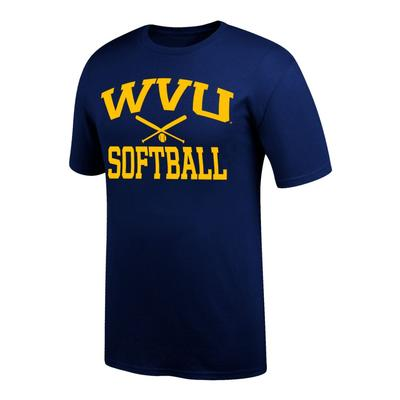 West Virginia Basic Softball Tee