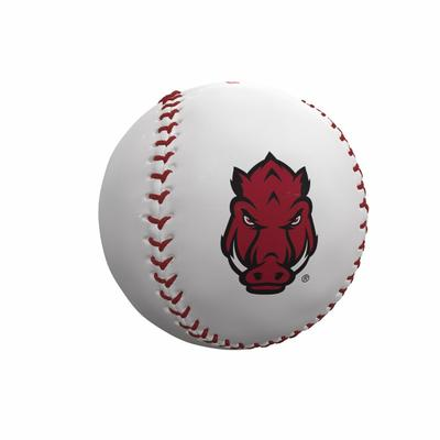 Arkansas Razorbacks Logo Autograph Baseball