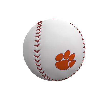 Clemson Tigers Logo Autograph Baseball