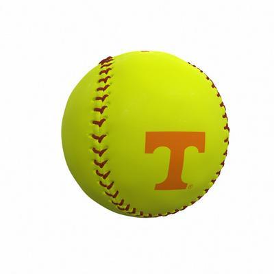 Tennessee Vols Logo Autograph Softball