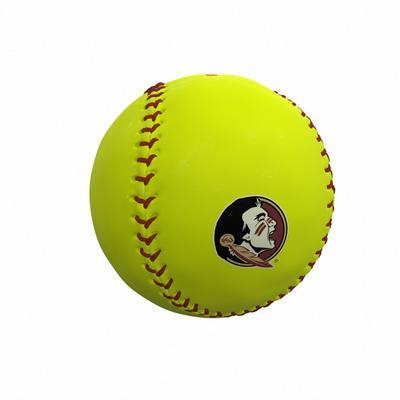 Florida State Seminoles Logo Autograph Softball