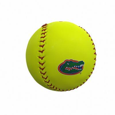 Florida Gators Logo Autograph Softball