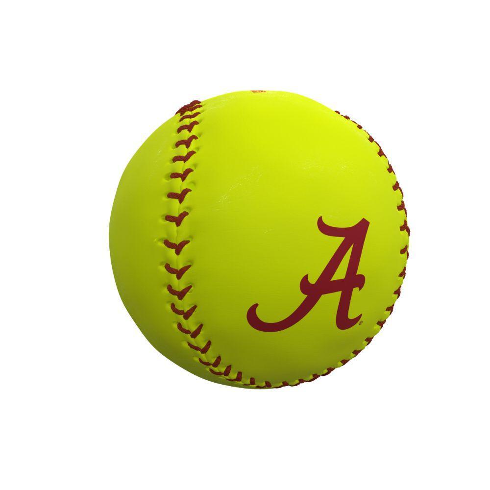 Alabama Crimson Tide Logo Autograph Softball