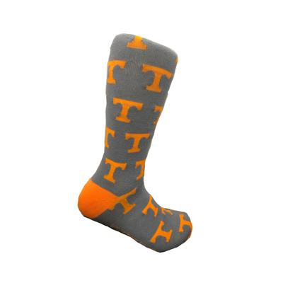 Tennessee Volunteer Traditions Power T Dress Socks