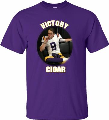 Joe Burrow Victory Cigar Tee